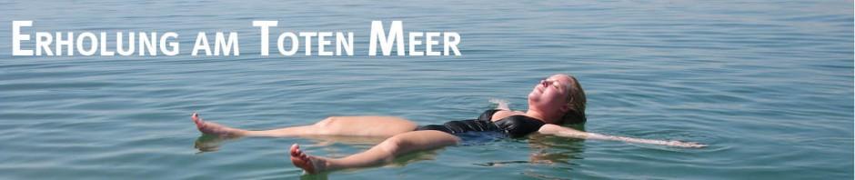 Erholung am Toten Meer