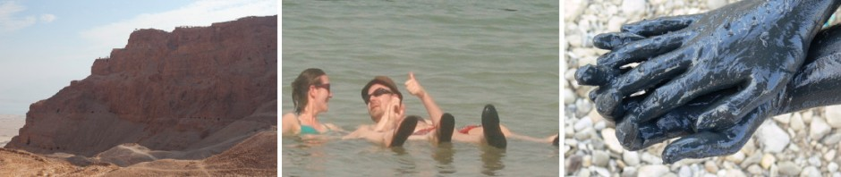 Massada und das Tote Meer