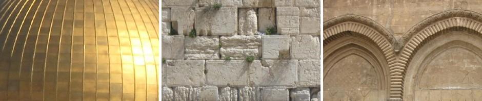 der Felsendom, die Klagenauer, und Elemente aud der Grabeskirche