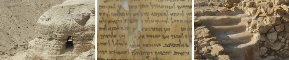 Qumran_Schriftrollen_Israelreise