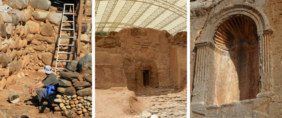 Tel Dan und Banias. Archäologie